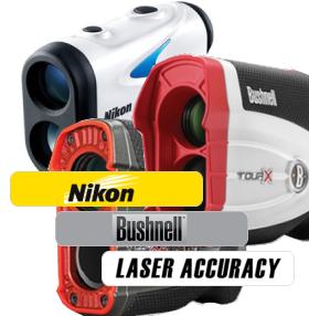 ゴルフ用レーザー距離計の各メーカーの特徴