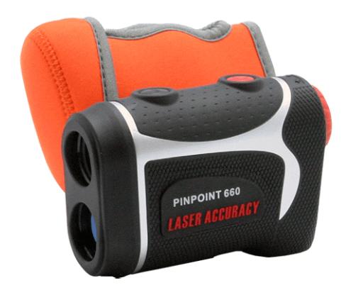 ゴルフ用レーザー距離計のラウンド中の持ち運び
