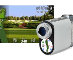 GPS一体型ゴルフ用レーザー距離計 これから主流になる予感