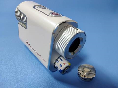 ボイスキャディCL2のリチウム電池
